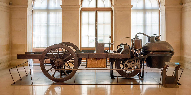 Historia del Automóvil y su Evolución-Auto a vapor