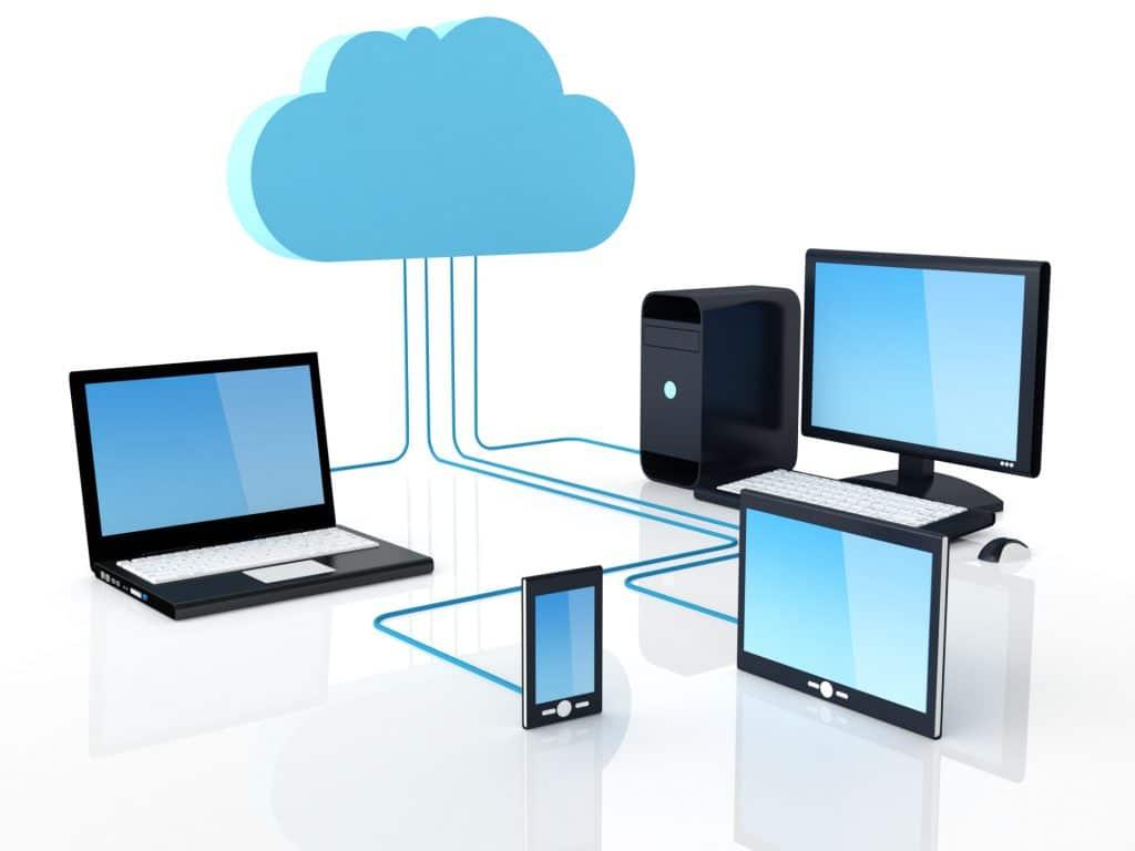 Historia de la informática-nube informática
