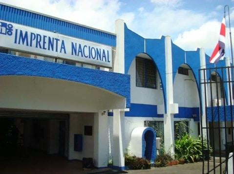Historia de la imprenta-Imprenta Nacional de Costa Rica