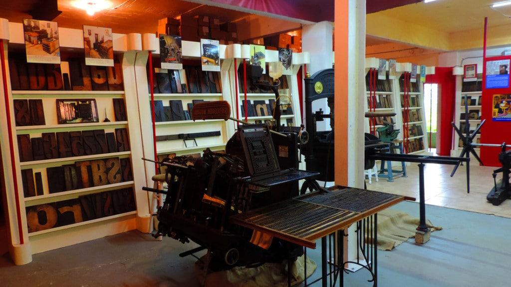 Historia de la imprenta-Imprenta en Puerto Rico