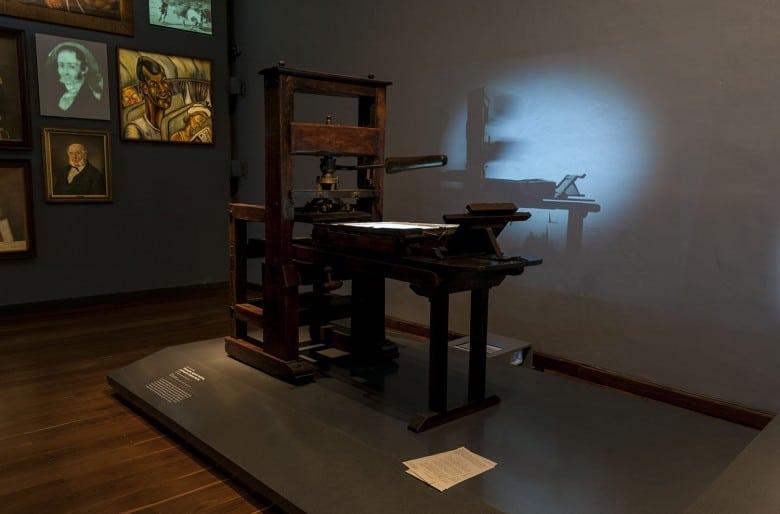 Historia de la imprenta-imprenta en Colombia