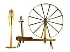 Historia de la rueda y sus clases-Rueda de Hilar