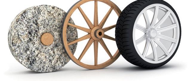 Historia de la rueda y sus clases-evolución