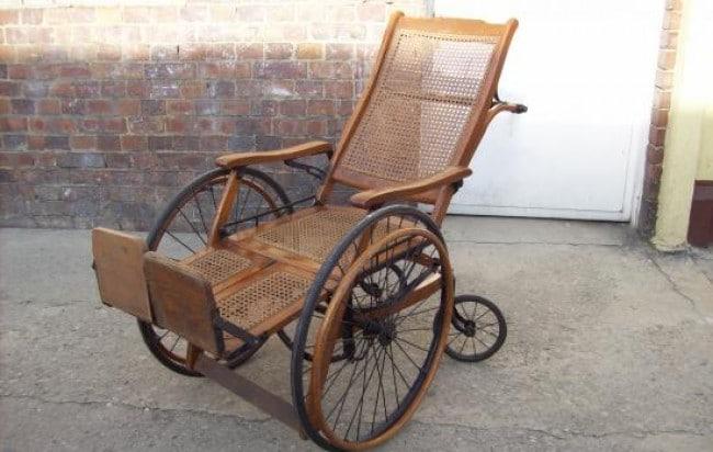 Historia de la rueda y sus clases-silla de ruedas