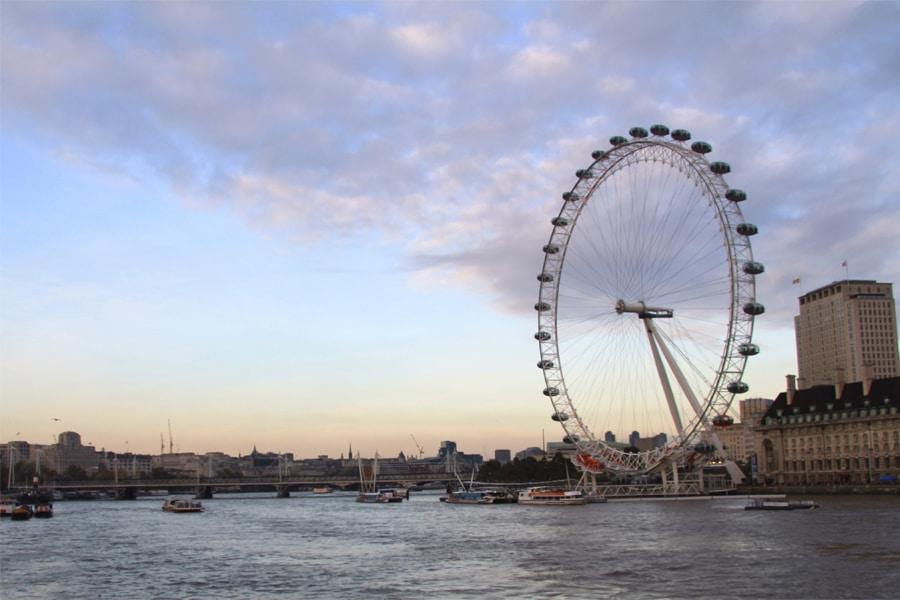 Historia de la rueda y sus clases-London Eye