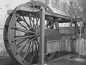 Historia de la rueda y sus clases-Rueda Hidraulica