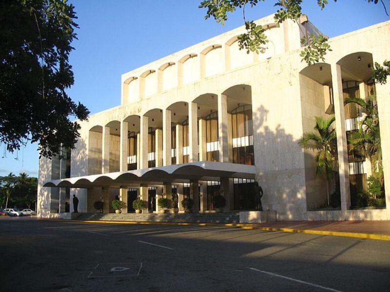 Historia del Teatro Dominicano-fachada