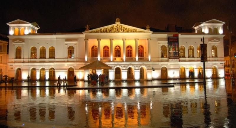 Historia del Teatro Ecuatoriano-teatro en Ecuador