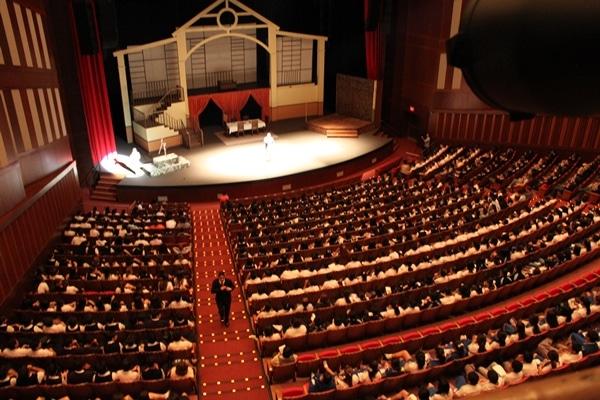 Historia del Teatro Ecuatoriano-palco