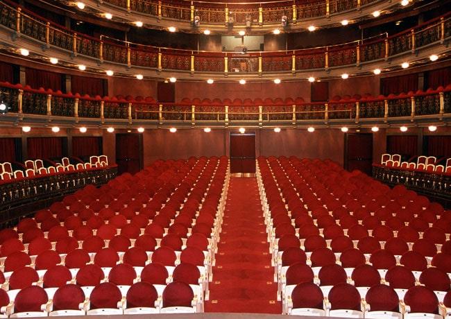Historia del Teatro Español-Palco