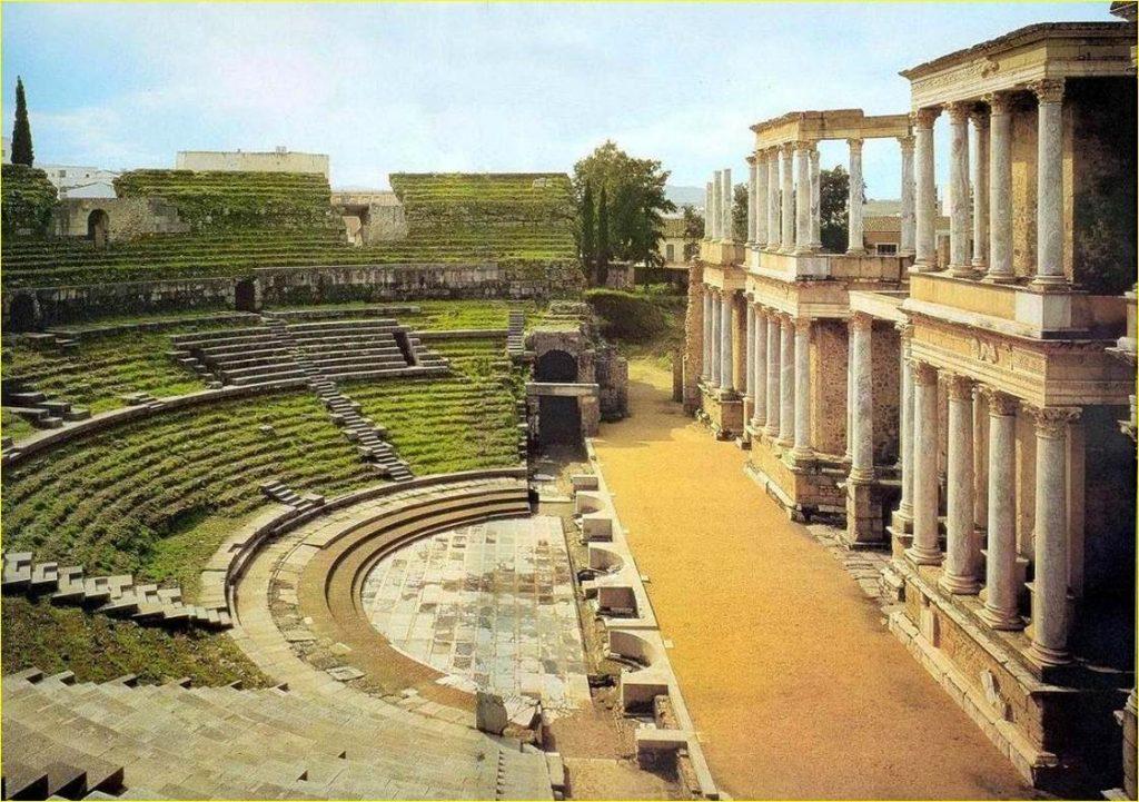 Historia del Teatro en Roma