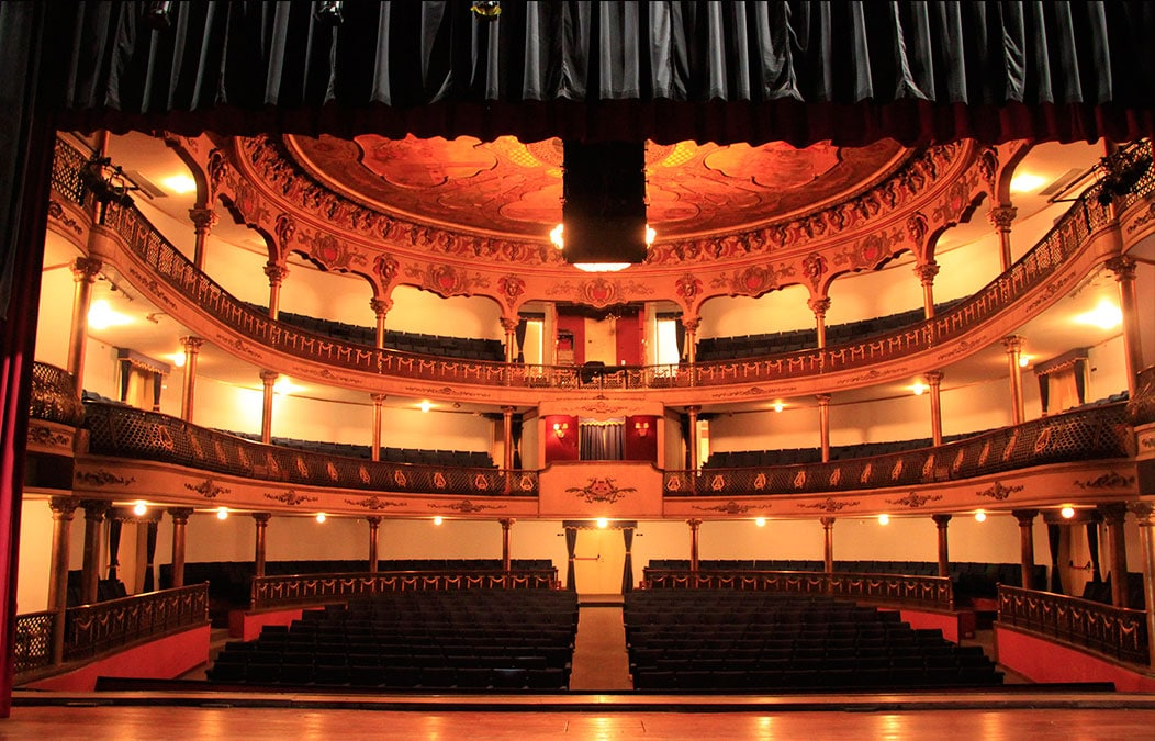 Historia del teatro Nacional-palco