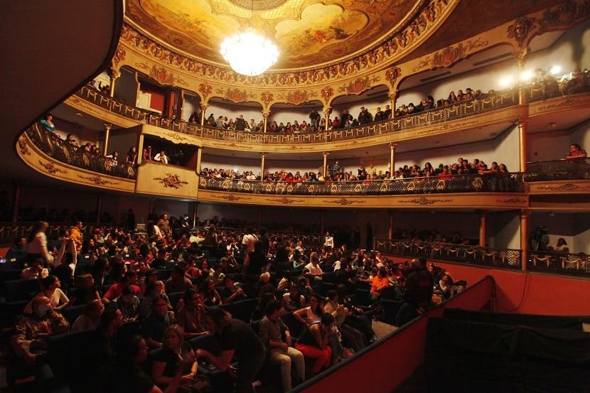 Historia del teatro en venezuela-palco