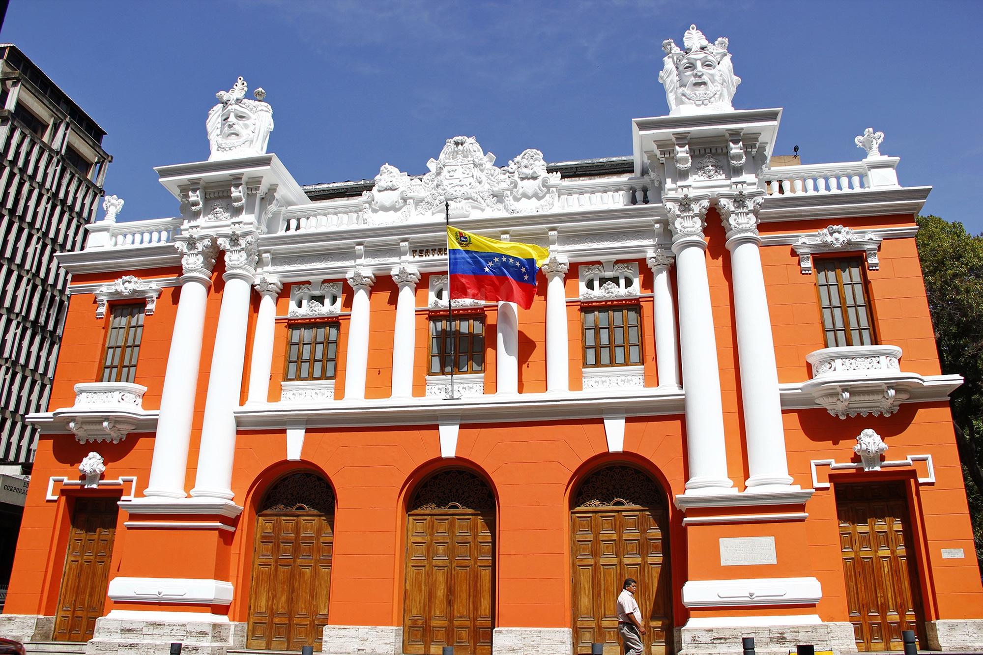 Historia del teatro en venezuela-teatro nacional