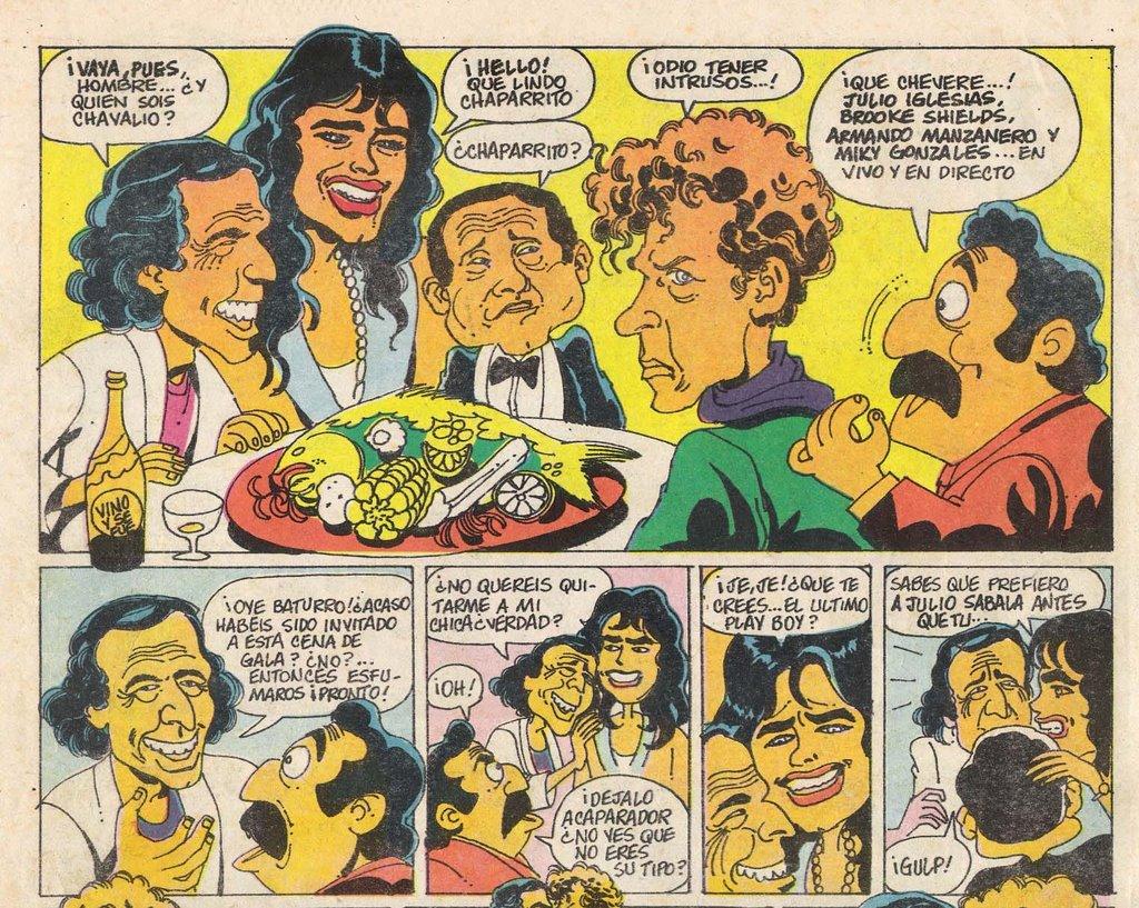 Historia del comic segunda parte