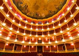 historia del teatro degollado-Teatro por dentro