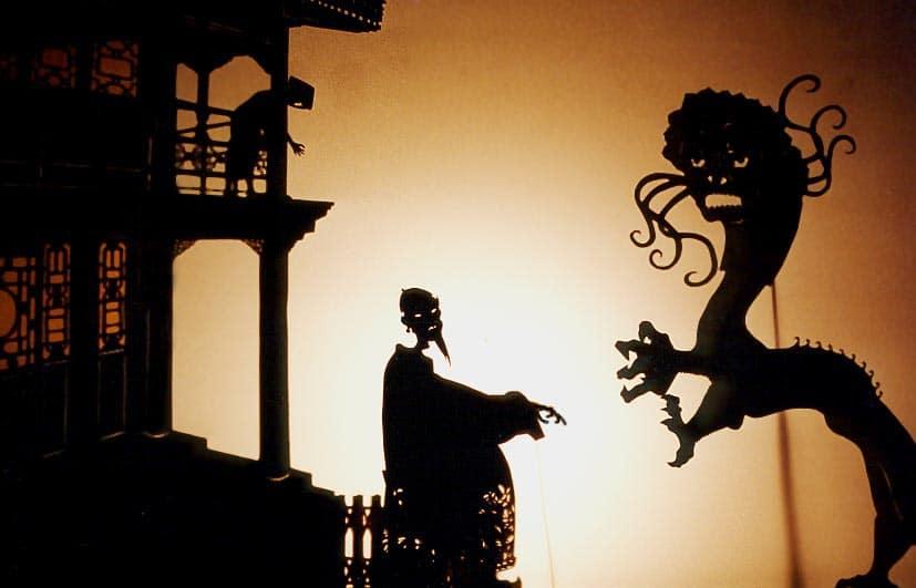 Teatro de sombras-China