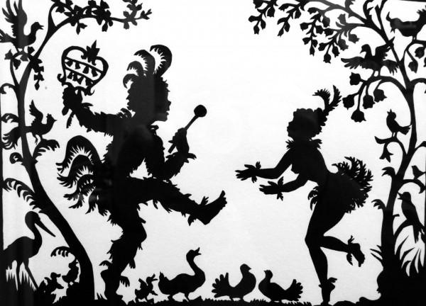 Historia del teatro de las sombras-obras