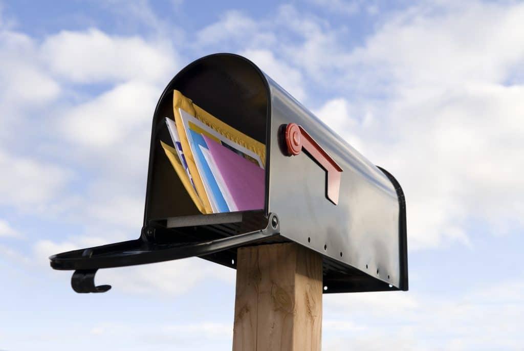 correo postal entrada