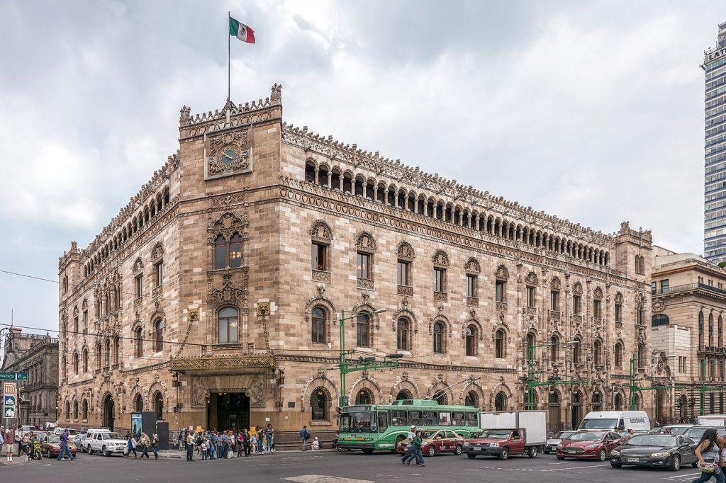correo postal, Palacio Postal de México