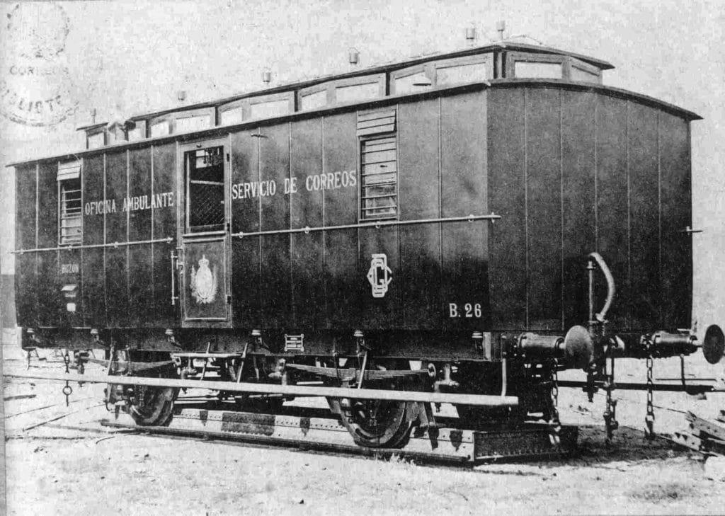correo ferrocarril