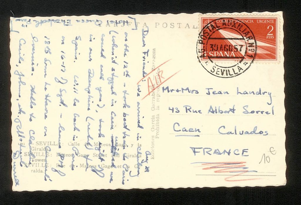 correo historia