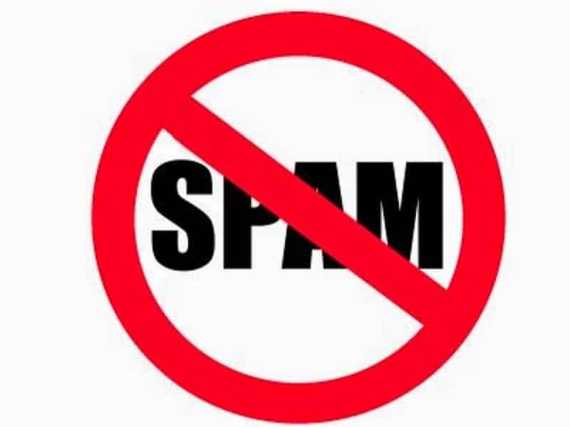 spam en el correo electronico
