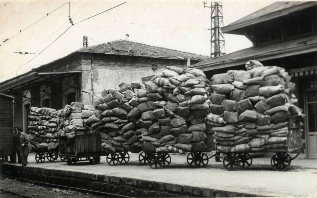 el correo de ferrocarriles