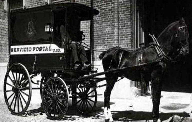 historia del correo postal