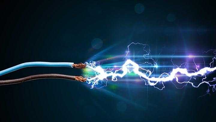 fonte de eletricidade