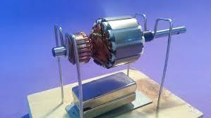 História da eletricidade, motor
