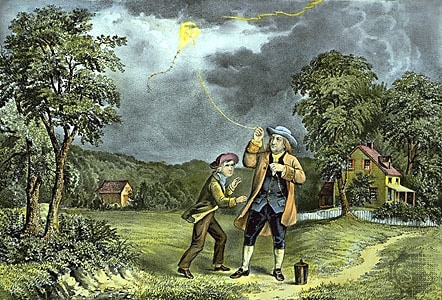 history of electricity, experrimento