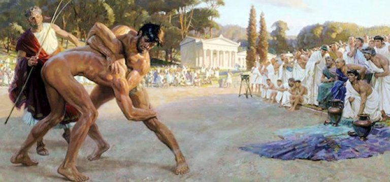 historia del deporte griego