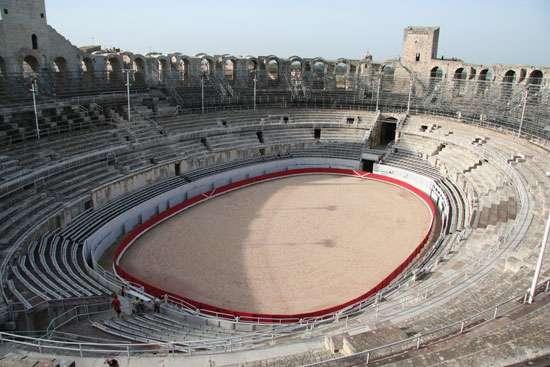 anfiteatros romanos