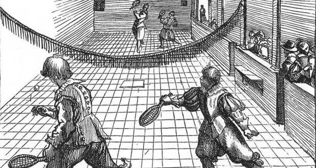 historia del deporte Jeu de Poume