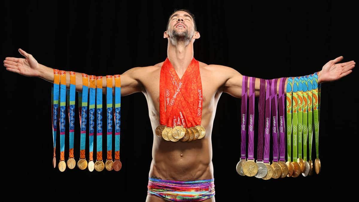Michael Phelps mejor nadador del mundo