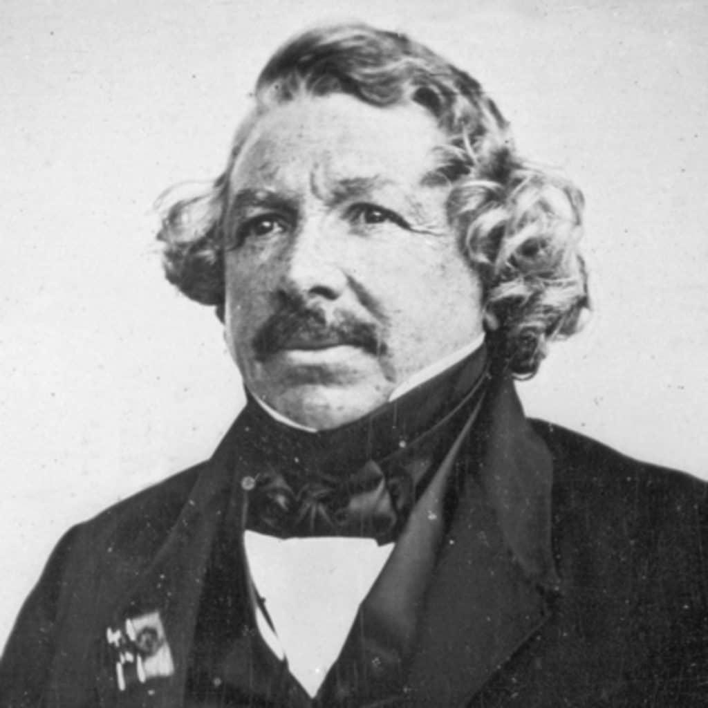 historia de la fotografía, Louis Daguerre