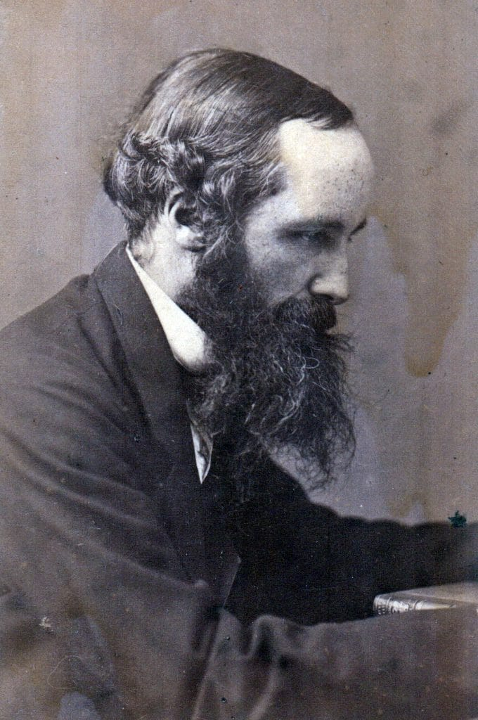 historia de la fotografía Maxwell