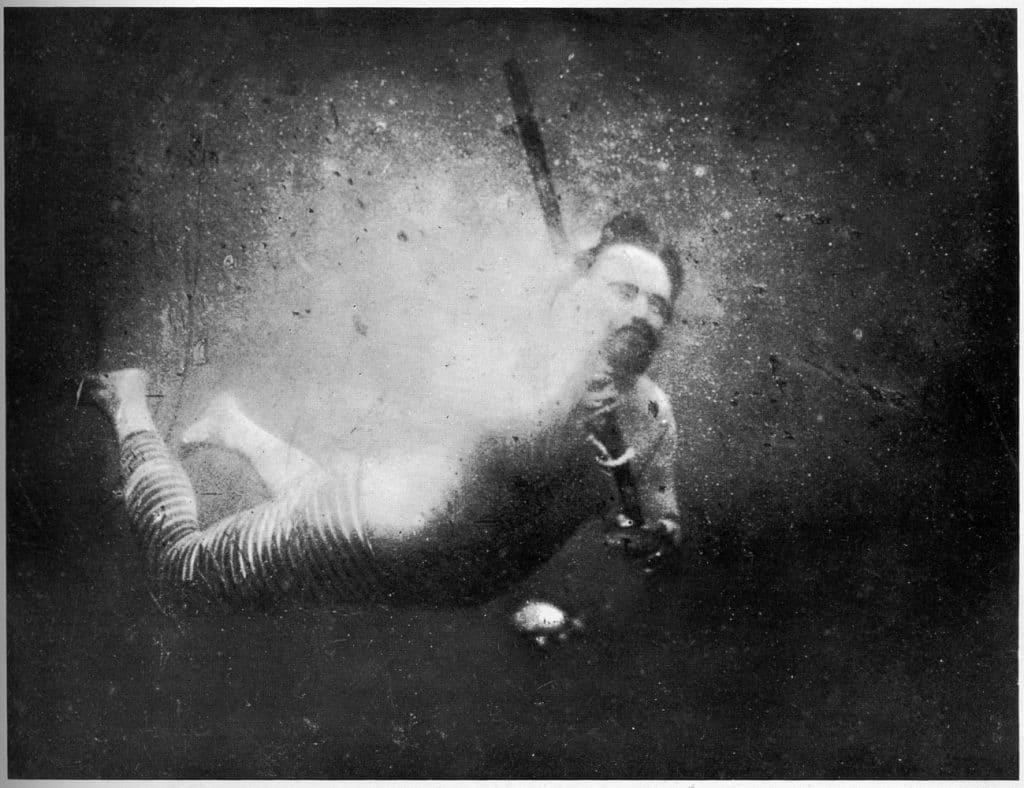 historia de la fotografía el flash