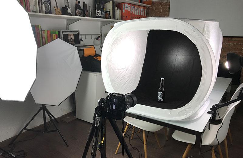 historia de la fotografia luz artiificial