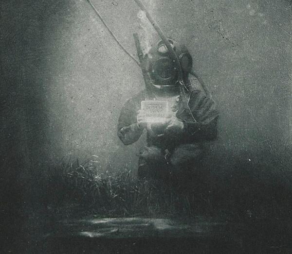 historia de la fotografía submarina