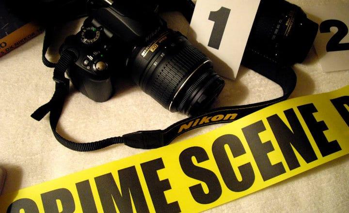 historia de la fotografia forense