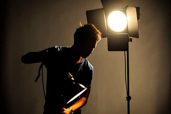 historia fotografía luz