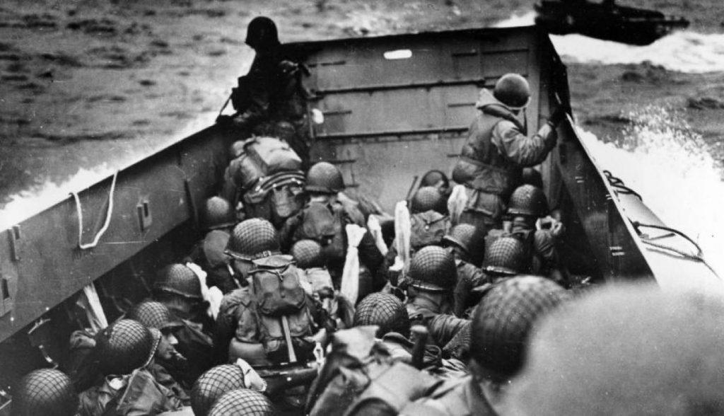 historia de la fotografía de guerra Día D