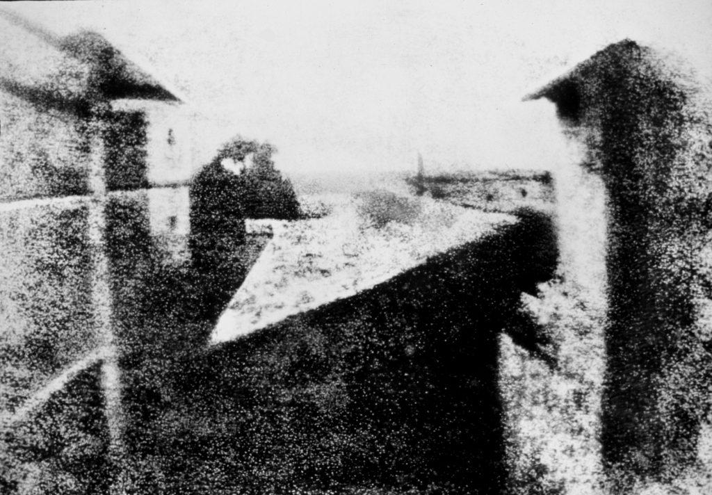 historia de la fotografía niepce