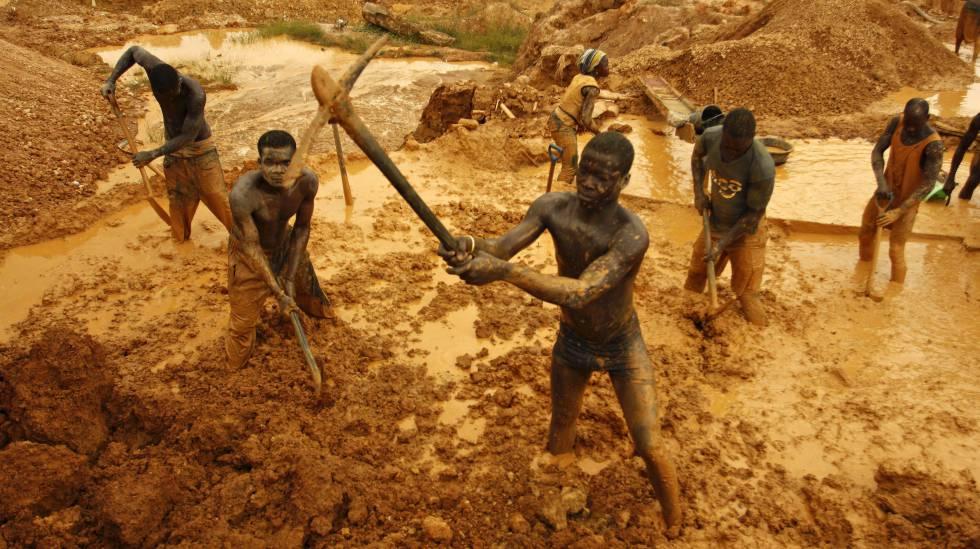 Historia de la minería ilegal en Colombia