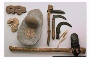 utensilios de la prehistoria