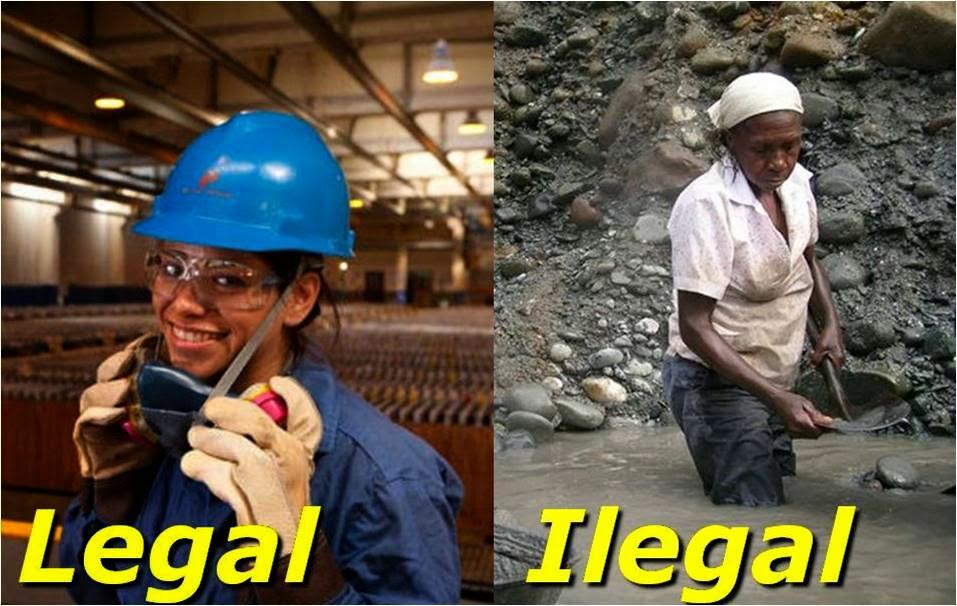 Historia de la minería informal en el Perú
