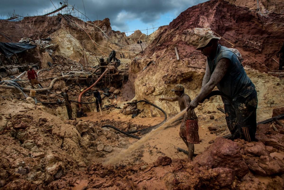 la minería y el oro
