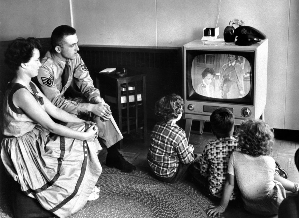 historia de la tv, origen